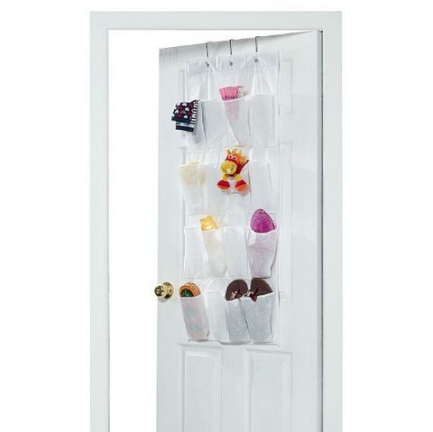 Large Long Wall & Over Door 16 Pocket Organiser